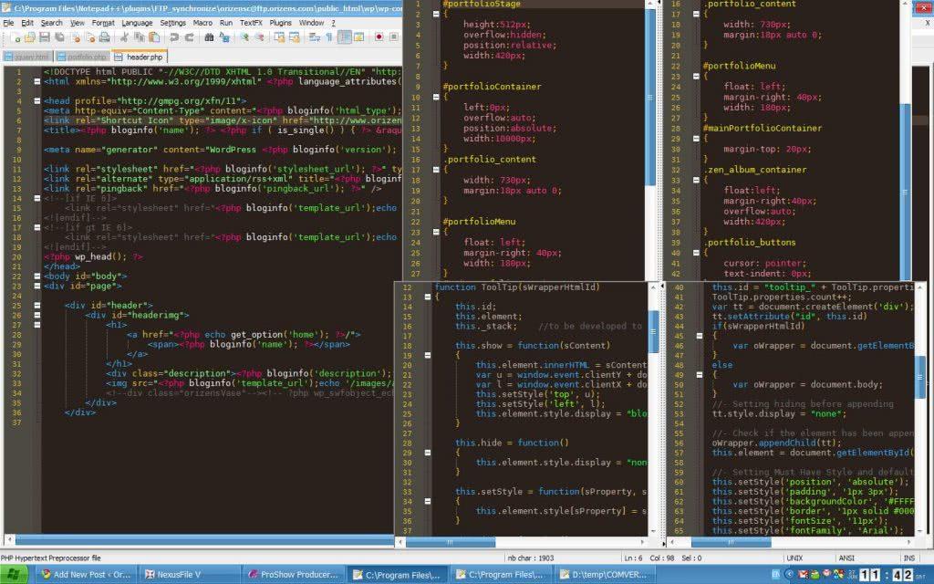Редактор кода html