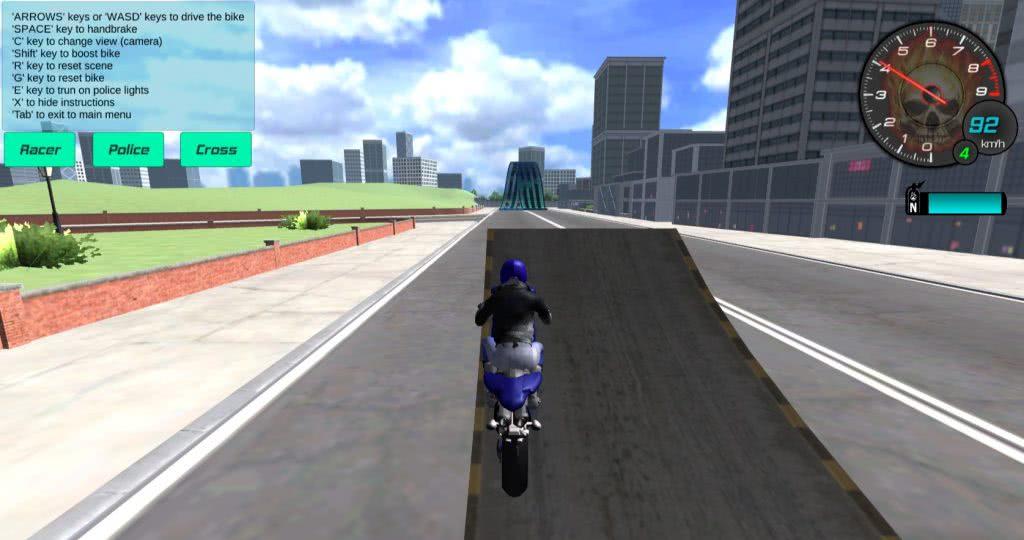 Motorbike Simulato