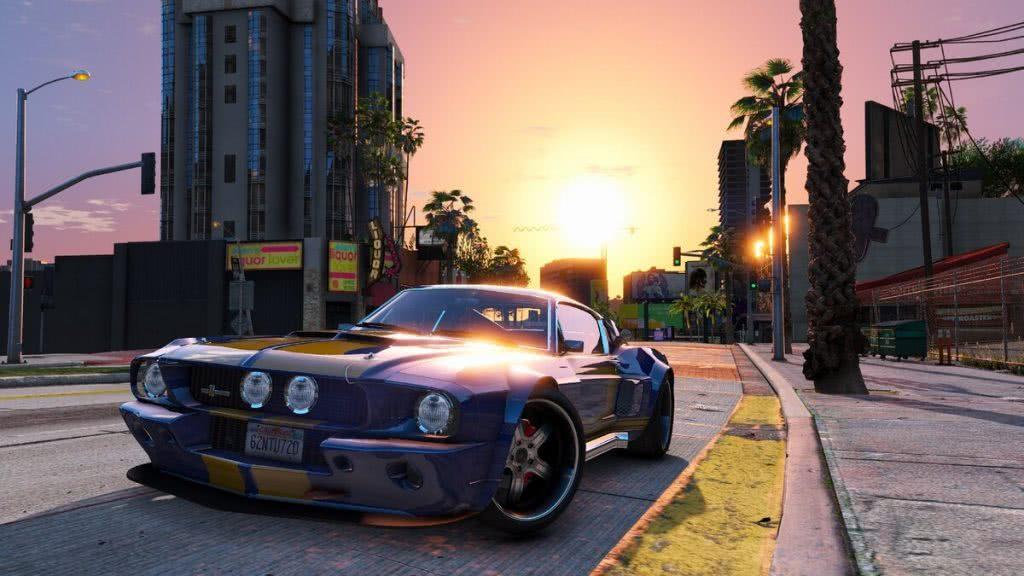 Mustang из гта5