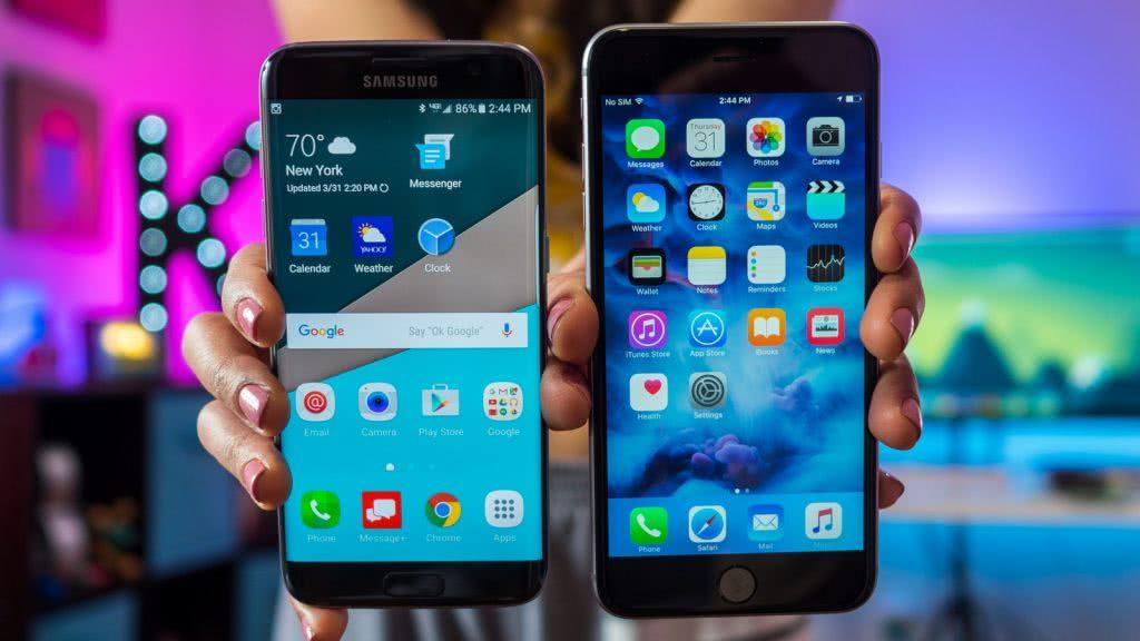 Айфон vs андроид