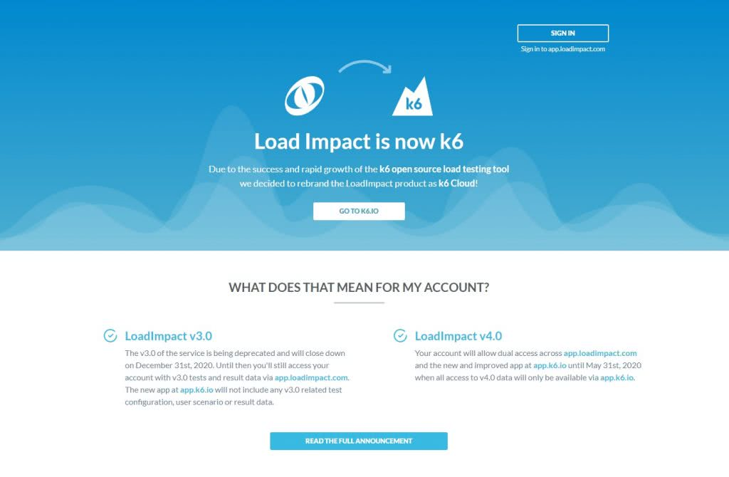 Load Impact