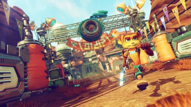Ratchet & Clank игра