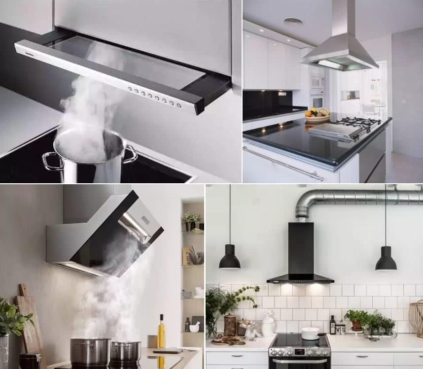 Виды вытяжек на кухне